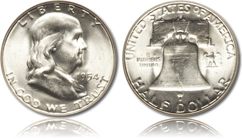 Franklin Silver Half Dollar