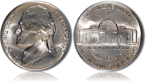 Jefferson Silver Nickel