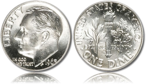 Roosevelt Silver Dime
