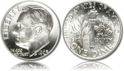 Roosevelt Silver Dime