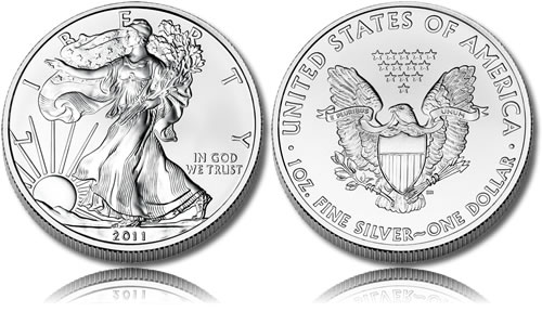 2011 Bullion Silver Eagle