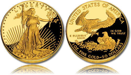2011 Proof Gold Eagle