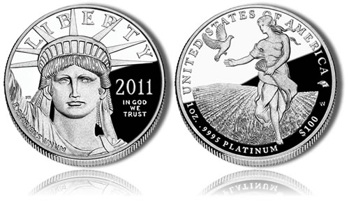 2011 Proof Platinum Eagle Coin