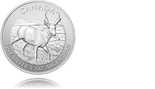 2013 Canadian Wildlife Silver Bullion Coins
