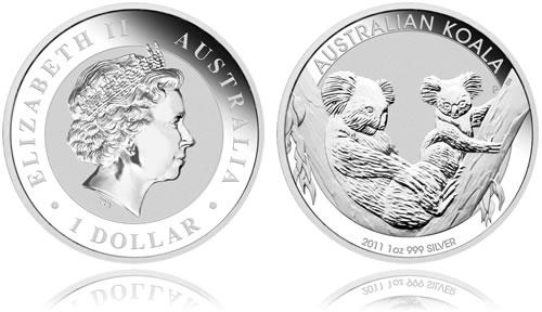 Australian Koala Silver Bullion Coin