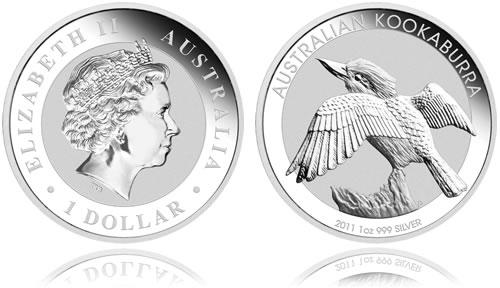 Australian Kookaburra Silver Bullion Coin