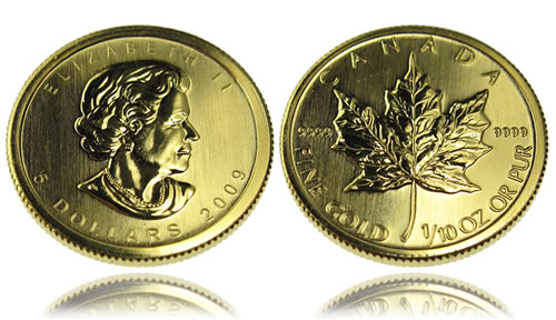 Canadian Maple Leaf Gold Bullion Coin