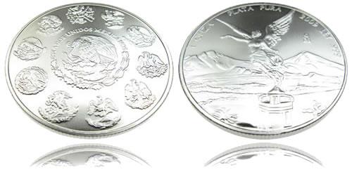 Mexican Libertad Silver Bullion Coin