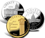 2000 Library of Congress Commemorative Coins