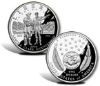 2004 Lewis and Clark Bicentennial Silver Dollar