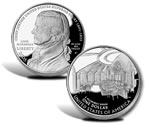 2005 John Marshall Commemorative Silver Dollar