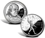 2006 Benjamin Franklin Commemorative Silver Dollars