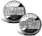 2007 Little Rock Central High School Desegregation Silver Dollar