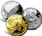2008 Bald Eagle Commemorative Coins