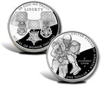 2011 Medal of Honor Silver Dollar