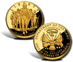 2011 United States Army $5 Gold Coin