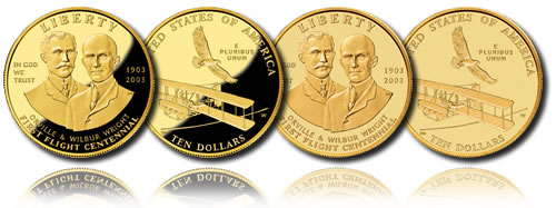 2003 First Flight Centennial Commemorative Coins