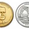 Arches National Park Quarters and Hoover $1 Coins in June