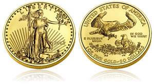 2013 American Gold Eagle Bullion Coin