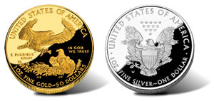 US Mint American Eagle Products