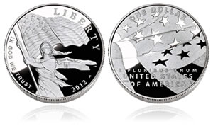 US Star-Spangled Banner Commemorative Silver Coin