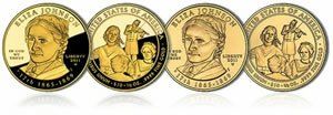 Eliza Johnson First Spouse Gold Coin
