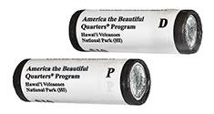2012 America the Beautiful Quarters in rolls
