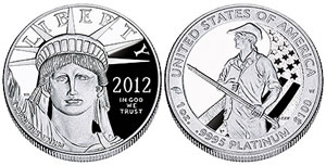 2012-W Proof American Platinum Eagle