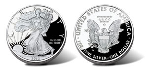 2012-W Proof American Silver Eagle