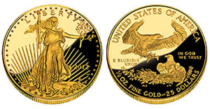 2012-W $25 Proof American Gold Eagle Coin