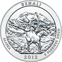 Denali National Park and Preserve 5 oz Silver Coin