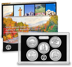 2013 ATB Quarters Silver Proof Set