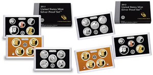 2011-2012 Silver Proof Sets