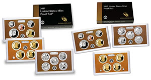 Annual Clad 2011-2012 Proof Sets