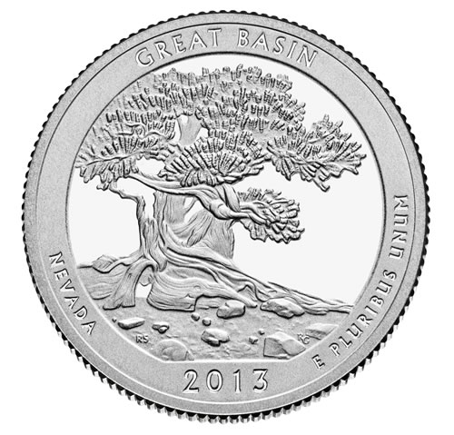 Image of Great Basin National Park Quarter