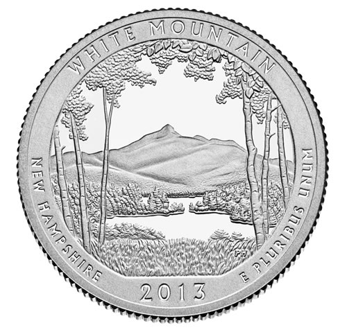 Image of White Mountain National Forest Quarter