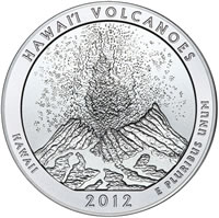 2012-P Hawaii ATB 5 Oz Silver Uncirculated Coin