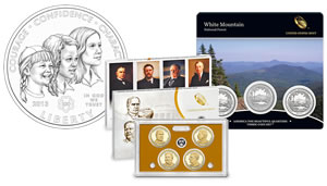 2013 Girl Scout Coin Design, 2013 Quarters Set, Presidential $1 Proof Set