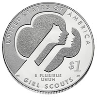 2013 Girl Scouts Commemorative Coin
