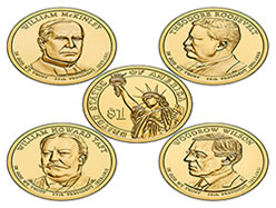 2013 Uncirculated Presidential $1 Coins