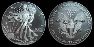2013-W Enhanced Uncirculated American Eagle Silver Coin