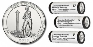 Perry&#039;s Victory Quarter and Rolls