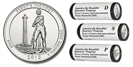 Debut Sales Of 2013 Perry S Victory Quarters Vs Past Atb