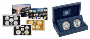 2013 Silver Proof Set, 2013 West Point American Silver Eagle Two-Coin Set