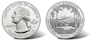 2013 America the Beautiful Coin Release Dates