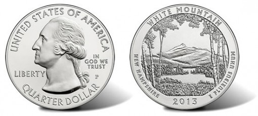 First 2013 America the Beautiful 5 Ounce Silver Coin