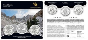 18th America the Beautiful Quarters Three-Coin Set