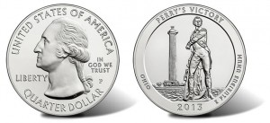 Perry's Victory Five Ounce Silver Coins Debut Sales