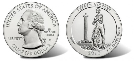 Perry's Victory and International Peace Memorial Five Ounce Silver Uncirculated Coin