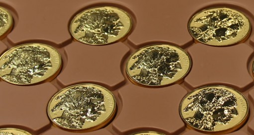 Reverse Proof Gold Buffalo Coins at West Point Mint